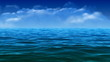 Easy surface of the sea