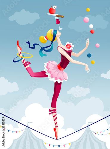 Photo Circus girl