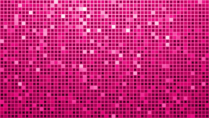 Pink Ladys Disco Matrix Background