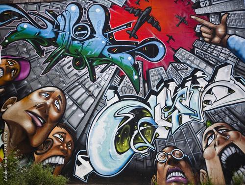 Fototapeta premium Graffiti
