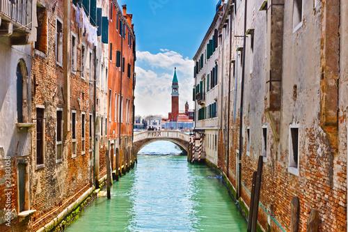 Foto op Plexiglas Venetie Canal in Venice