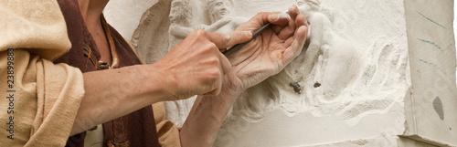 Fotografija Sculpture sur pierre