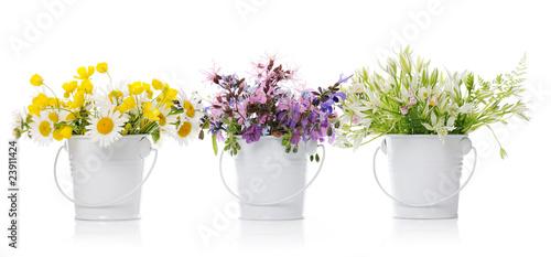 Plakat kwiatowy układ