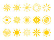 Icons - sun