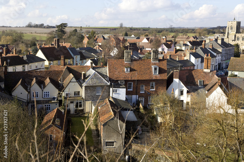 Photo Clare, Suffolk - view from above
