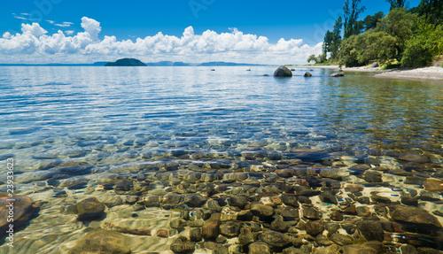 Poster Nouvelle Zélande Lake Taupo