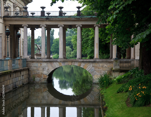Fototapeta Royal Palace in Lazienki Park obraz