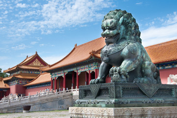 Fototapeta The Forbidden City