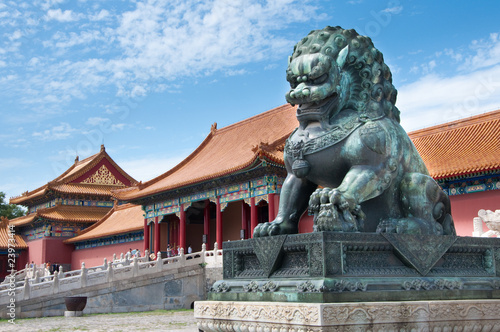 Foto op Canvas Beijing The Forbidden City