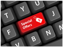 SPECIAL OFFERS Key On Keyboard...