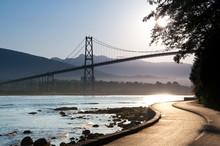 Lions Gate Bridge, Vancouver.