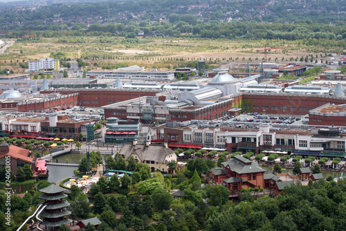 Fotografie, Obraz  Blick auf das CentrO in Oberhausen