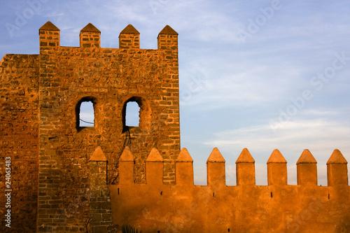 Stickers pour portes Maroc Rabat - Kasbah Oudaia mura