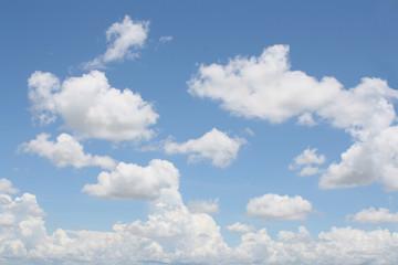 Real blue sky