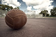 canvas print picture - Street Football