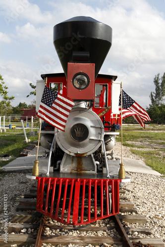 Fotografie, Obraz  The little red train
