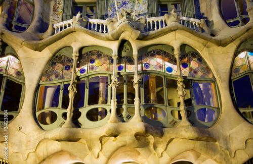 Barcelona - casa Batllo from Gaudi #24123804