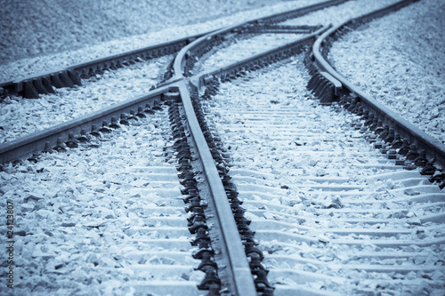 Fotografie, Obraz  railway