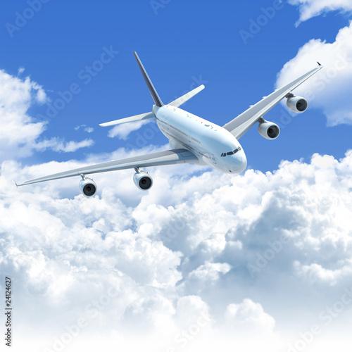 Fototapeta krajobraz   samolot-w-chmurach