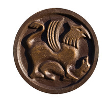 Medallion With Ancient Slavic Designs