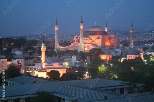 Canvas Prints Turkey Hagia Sophia