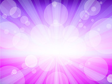 Purple Exlosion Card
