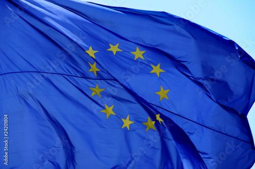 Fotografie, Obraz  european flag