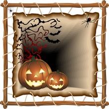 Halloween Su Telaio-Halloween ...