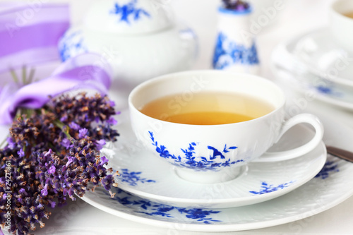 Photo  Lavender tea