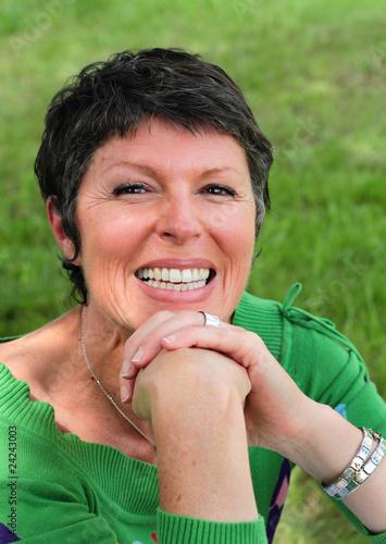 femme de 50 ans