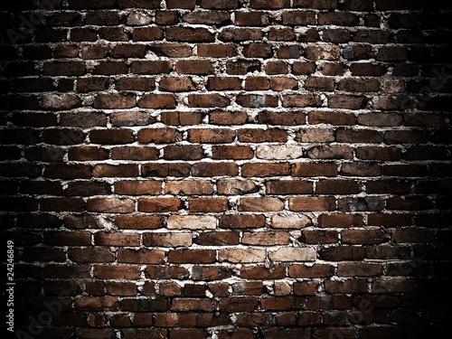 Foto op Plexiglas grunge brick wall