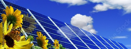La pose en embrasure Bleu fonce ECOLOGIE:Energie propre.