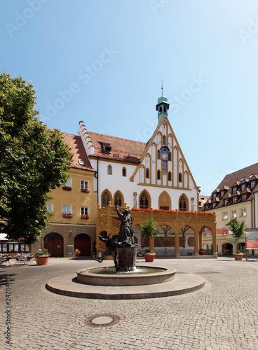 Altes Rathaus in Amberg Wallpaper Mural