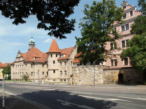 Staande foto Oude gebouw Kurfürstliche Schlossanlage in Amberg