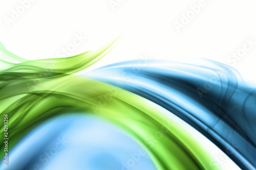 Keuken foto achterwand Fractal waves wave and smoke background