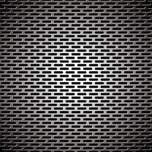 Slot Grill Metal Background