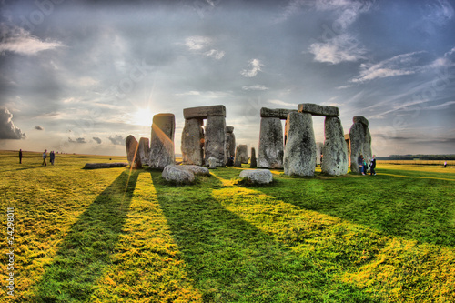 Stampa su Tela England - Stonehenge