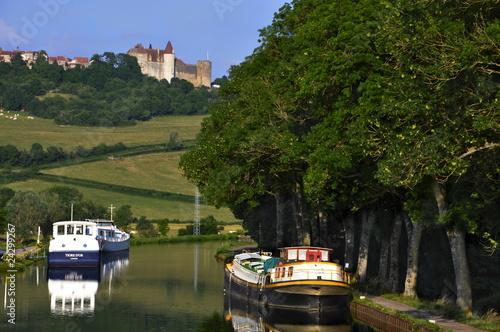 Fotografie, Obraz  Canal de Bourgogne