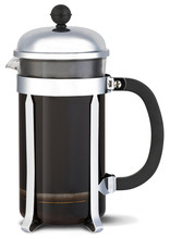 Chrome Cafetiere Coffee Jug On...
