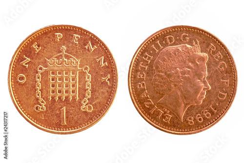 Cuadros en Lienzo  UK penny