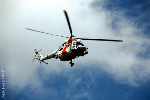 Staande foto śmigłowiec ratowniczy
