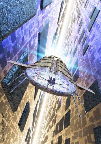 statek-kosmiczny-i-hiperprzestrzen