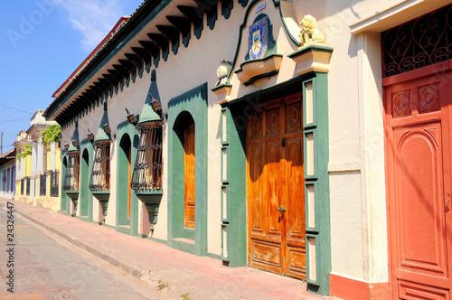 Fotografia Brautiful architecture in Granada, Nicaragua