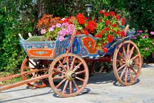 Colorful Wagon - Zakynthos Island, Greece