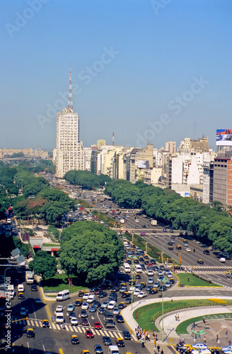 Papiers peints Buenos Aires Avenue 9 de Julio in Buenos Aires