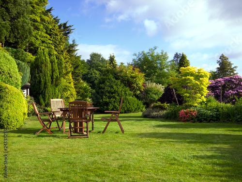 Láminas  English Garden