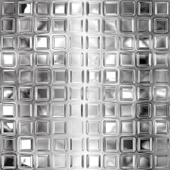 Fototapeta Seamless black and white glass tiles texture