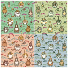 Cats And Critters Pattern