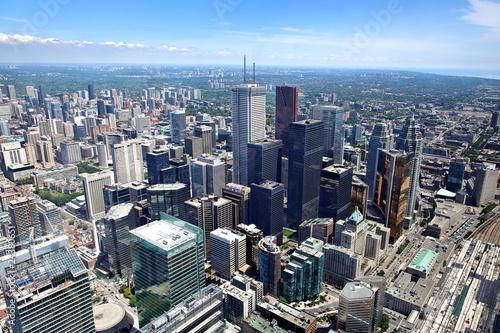 Blick auf Toronto, Kanada