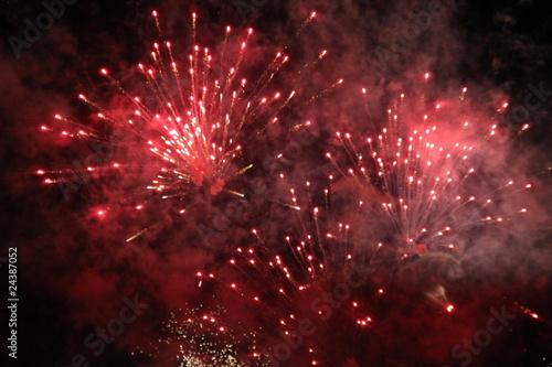 Feux d'artifices célébrations